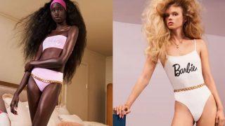 Descubre los nuevos modelos de baño de Zara dedicados a Barbie