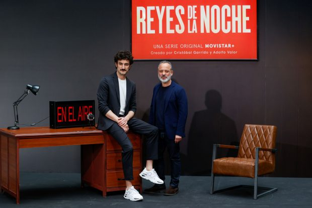 Los actores Miki Esparbé y Javier Gutiérrez / Gtres