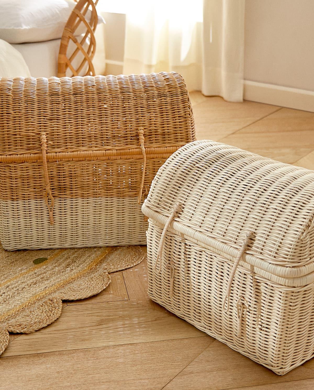 Guarda y decora, estas cestas de Zara Home te permitirán maximizar tu armario