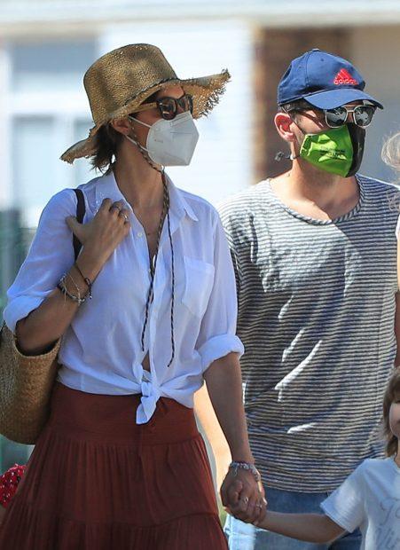 Iker Casillas y Sara Carbonero, en Navalacruz / Gtres