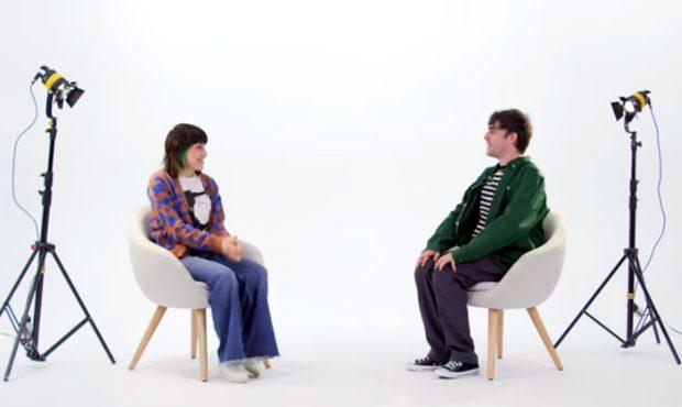Angy Fernández ha acudido en calidad de invitada al programa de Luc Loren para ser entrevistada y hablar sobre la salud mental./Youtube