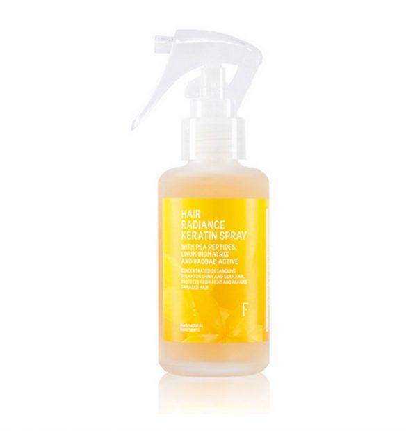 Hair Radiance Keratin Spray (16 euros)/Freshly Cosmetics