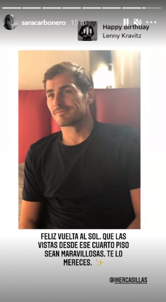 Así ha felicitado Sara Carbonero el cumpleaños a Iker Casillas / Gtres