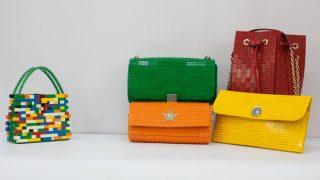 Bolsos hechos con piezas de lego/Bag and Block