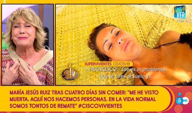Mila Ximénez, María Jesús Ruiz