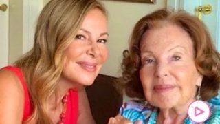 Ana Obregón y su madre/Instagram @ana_obregon_oficial