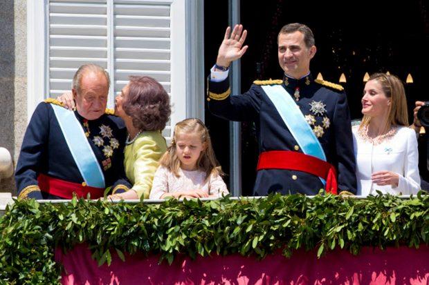 La Familia Real Española, junto al rey Juan Carlos I / Gtres
