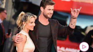 Chris Hemsworth y Elsa Pataky / Gtres
