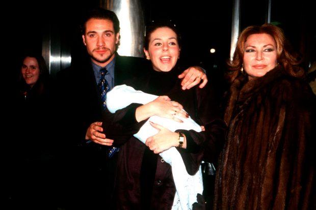 Antonio David Flores, Rocío Carrasco y Rocío Jurado, en una imagen de archivo / Gtres