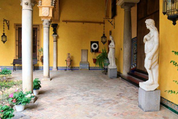 Jardines del palacio de Dueñas./Gtres