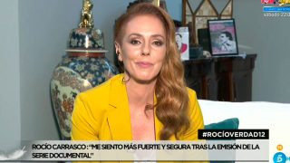 Rocío Carrasco ha reaparecido este miércoles en Telecinco / Telecinco