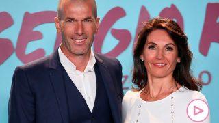 Zinedine Zidane y su mujer Veronique / Gtres