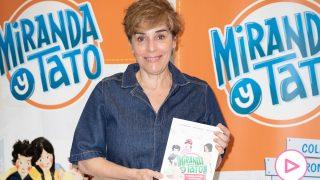 Anabel Alonso en la presentación de la colección de libros 'Miranda y Tato'/Gtres