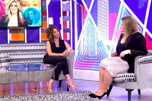 Carlota Corredera y María Patiño en 'Viernes Deluxe'./Telecinco