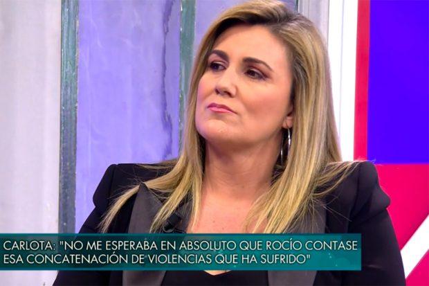 Carlota Corredera ha sido una de las invitadas a 'Viernes Deluxe'./Telecinco