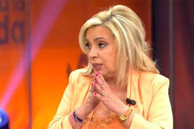 Carmen Borrego ha dado su opinión sobre la asistencia de Rosa Benito al homenaje de Rocío Jurado./Telecinco