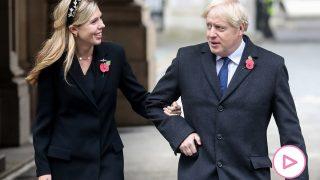 Boris Johnson y Carrie Symonds/Gtres