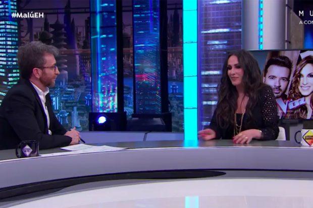 Malú en el programe de 'El Hormiguero'./Antena 3