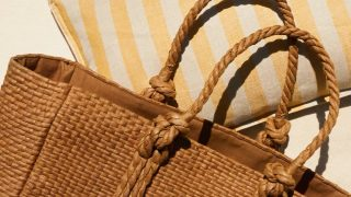 La cesta trenzada, el bolso de Zara Home para hacer la compra, ir a la playa o llevar el portátil
