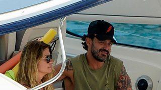 Makoke y su nueva pareja, Luis, en Mallorca/Gtres