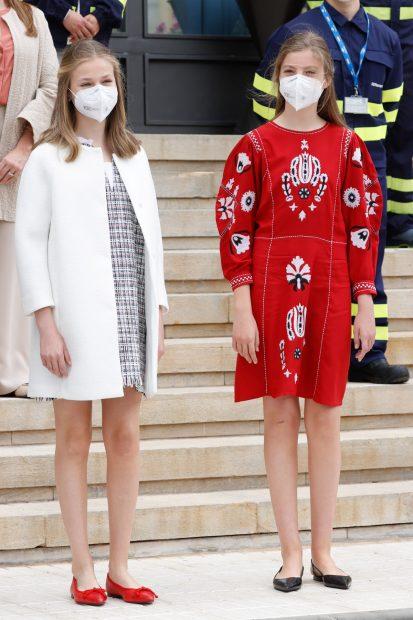 La princesa Leonor y la infanta Sofía en una imagen de archivo./Gtres