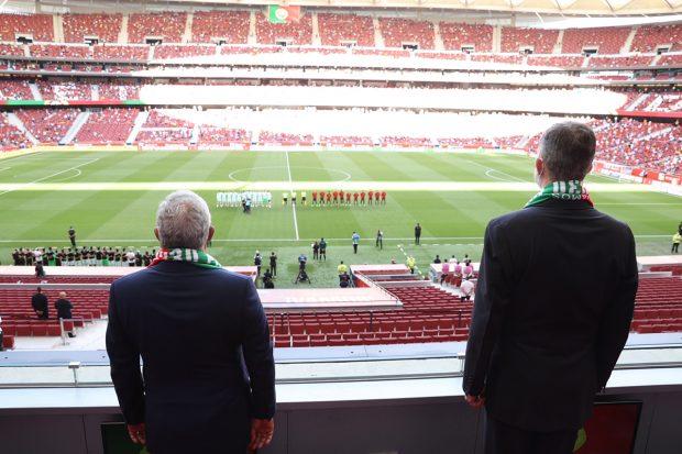 España y Portugal han disputado un partido amistoso a tan solo una semana de comenzar la Eurocopa 2021./Gtres