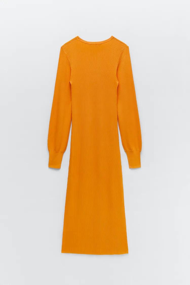 Zara: Los 5 vestidos naranja que adelgazan y potenciarán tu bronceado este verano