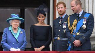 Los duques de Sussex con algunos de los Windsor / Gtres