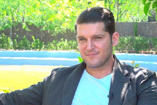 Manu Tenorio, durante la entrevista / Gtres