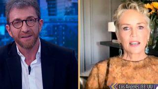 Sharon Stone invitada en 'El Hormiguero'/Atresmedia