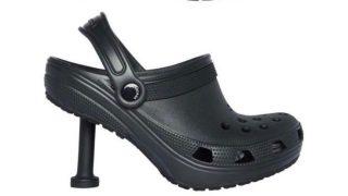 Los Crocs de Balenciaga con tacón traumatizan al mundo de la moda