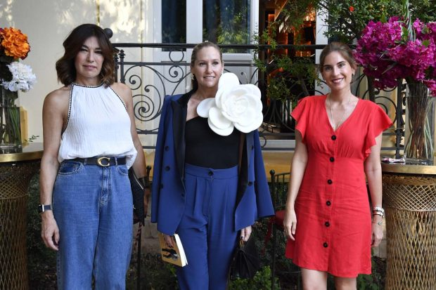 Lourdes Montes, Raquel Revuelta y Fiona Ferrer