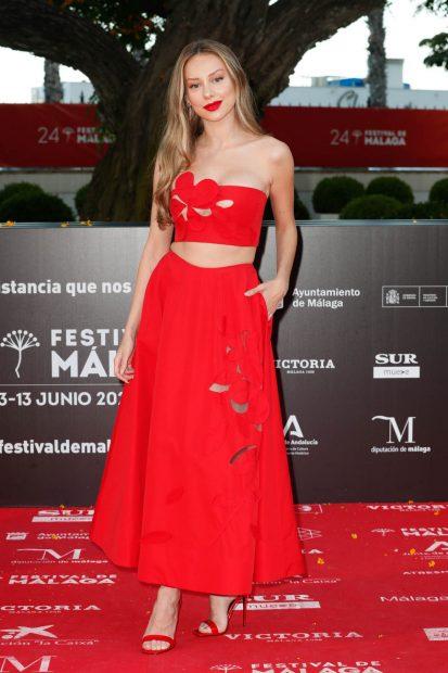 Ester Expósito arrasa en el Festival de Málaga / Gtres