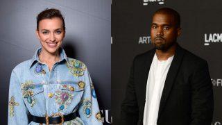 Irina Shayk y Kanye West en un fotomontaje / Gtres