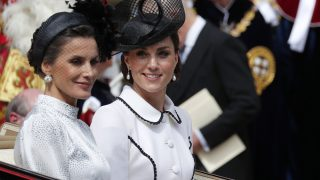 La reina Letizia y Kate Middleton en una imagen de archivo / Gtres