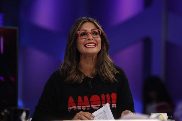 Nuria Roca se ha convertido en una de las colaboradoras habituales de 'El hormiguero', formato presentado por Pablo Motos./Gtres