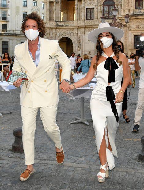José Antonio León y Rocío Madrid disfrutaron de una preboda rodeados de los suyos./Gtres