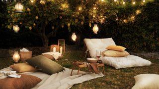 Zara Home hace realidad tu sueño de montar un cine al aire libre en el jardín