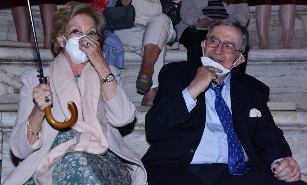 Constantitno y Ana María de Grecia