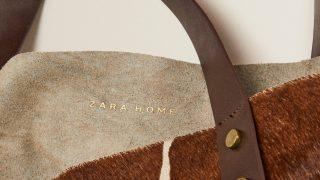 El tacto y el diseño minimalista de este bolso de piel de Zara Home son indescriptibles