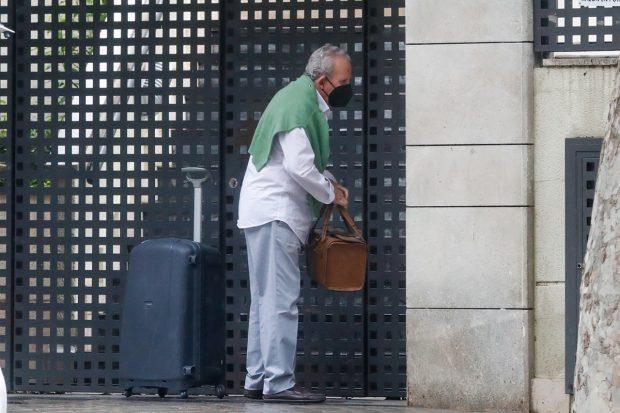 Manuel Ximénez acude a casa de su hermana./Gtres