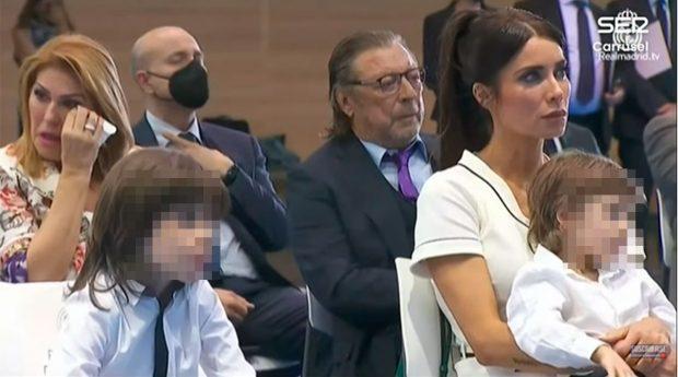 Pilar Rubio, Paqui y José María Ramos