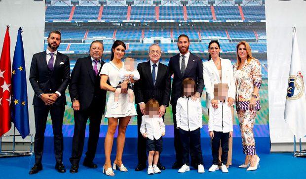 Sergio Ramos, Pilar Rubio, Florentino Pérez, Familia Ramos