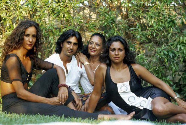 Lola Flores, Lolita, Rosario y Antonio Flores