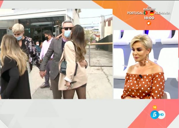 Ana María Aldón ha explicado cómo se encuentra José Ortega Cano./Telecinco