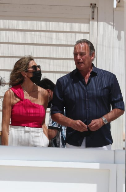 Paz Padilla se ha sincerado con Bertín Osborne sobre la muerte de su marido./Gtres