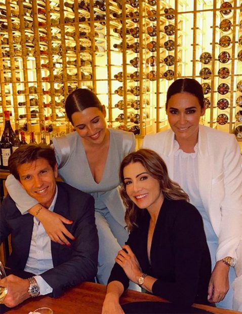 Manuel Díaz, también ha estado presente en este día tan especial para la familia./Instagram @albadiazmartin