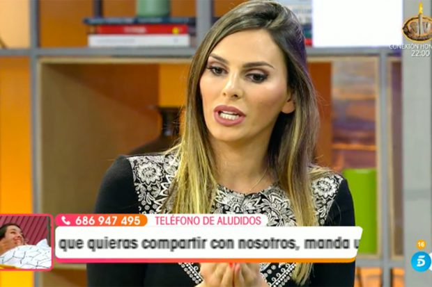 La tertuliana siempre se ha mantenido al margen entre el enfrentamiento de Kiko y su madre./Telecinco