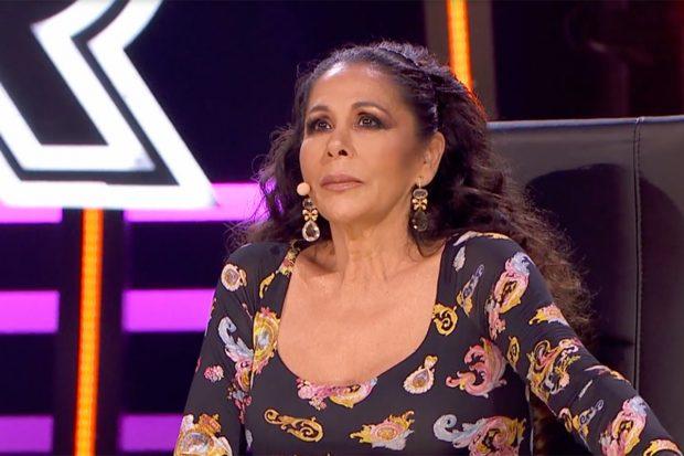 La artista ha mostrado sus sentimientos en 'Top Star: ¿cuánto vale tu voz?. Formato que se emite en Telecinco./Telecinco