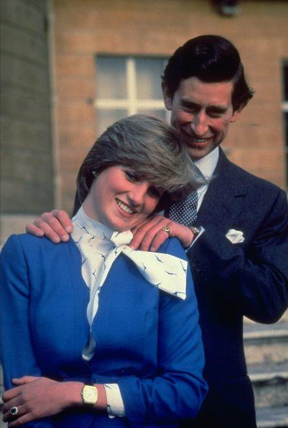 La princesa Diana y el príncipe Carlos en una imagen de archivo./Gtres
